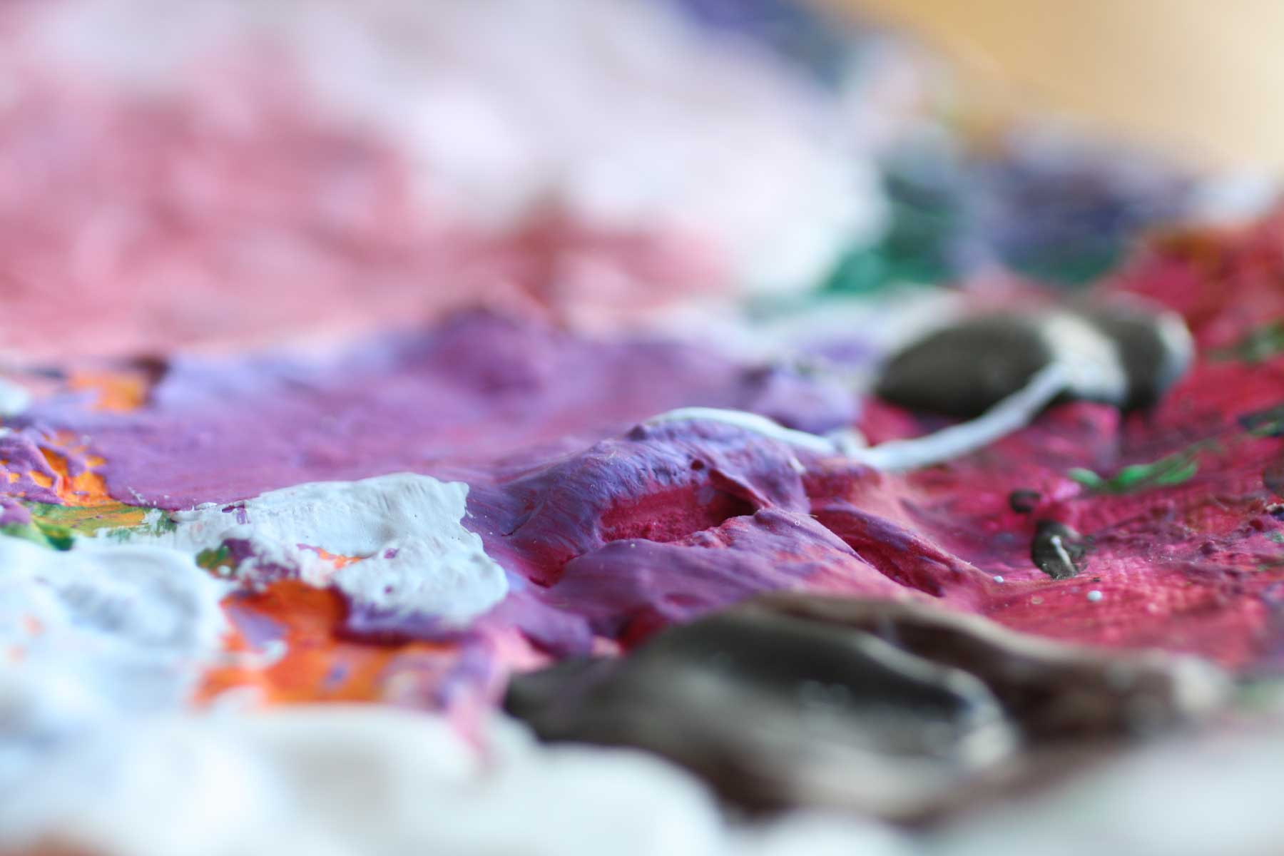KunstimKreaitvzimmer - Birgit Fabian - Hintergrundbild Farbe